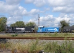 CSX 1123 & NS 5222